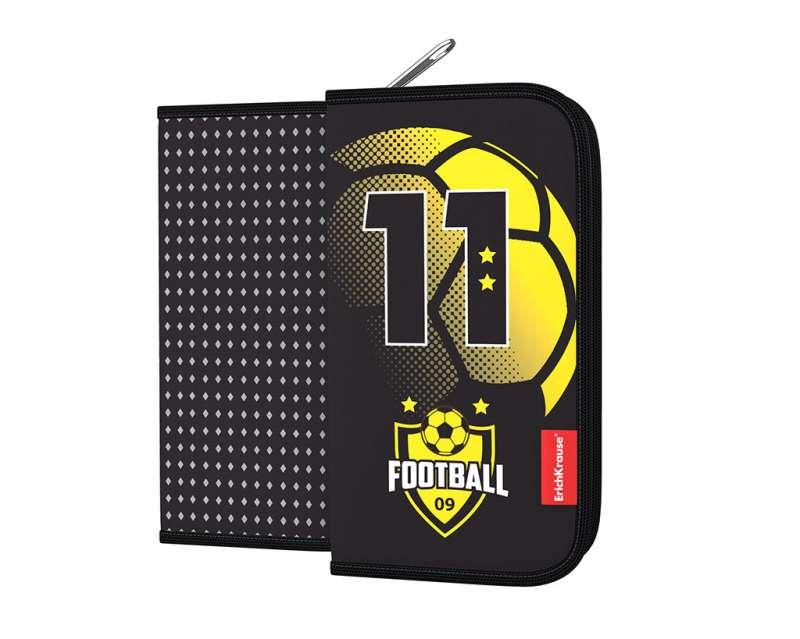 Пенал-книжка без наполнения ErichKrause 110x205x25мм Football Time