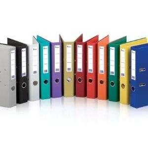 Папка-регистр FORPUS Premier, А4, 50мм, ПВХ, собранный, фиолетовый