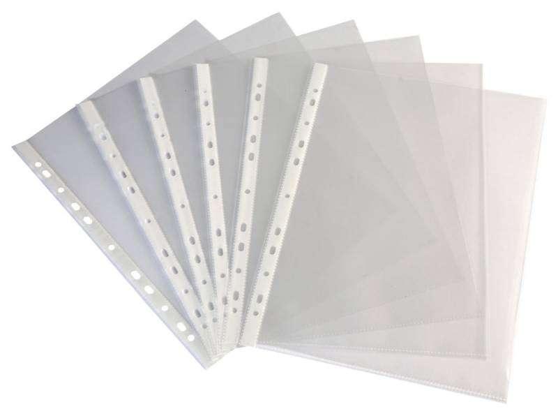 Кармашки прозрачные A4/40mic прозрачные (100 шт.)