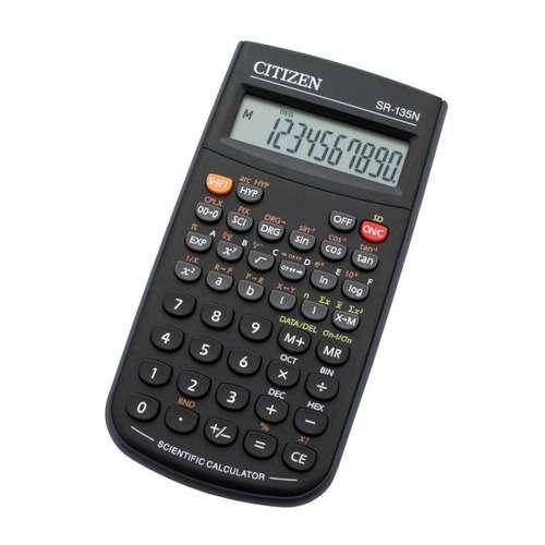 Kalkulators zinatniskais 8+2zim. 154X84 128 funkcijas Citizen