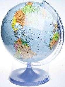 Глобус политический d=160 мм