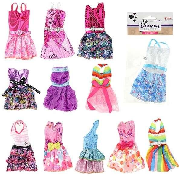 Платье для куклы, 1 шт. асорти LAUREN