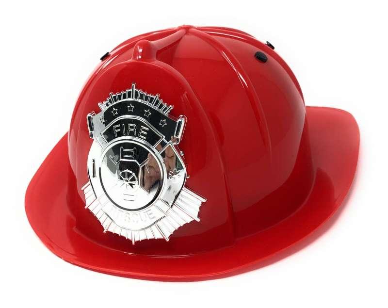 Игрушечный шлем пожарного