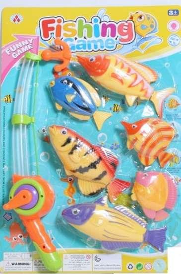 Магнитная игра - Рыбалка