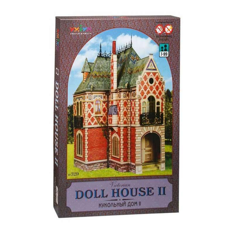 Сборная модель из картона - Кукольный дом