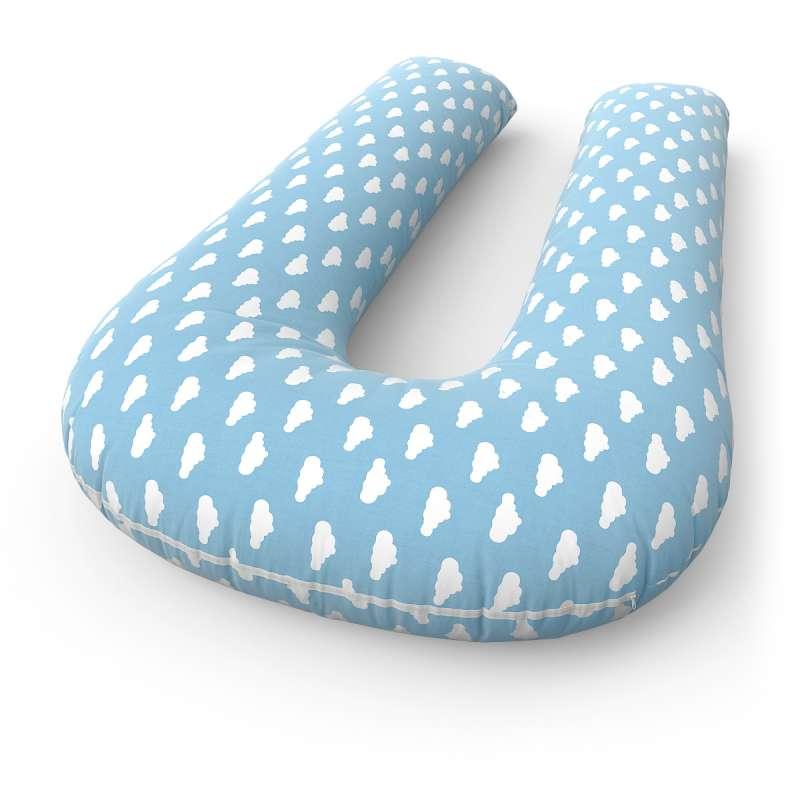 Подушка для беременных U + наволочка Cloud blue