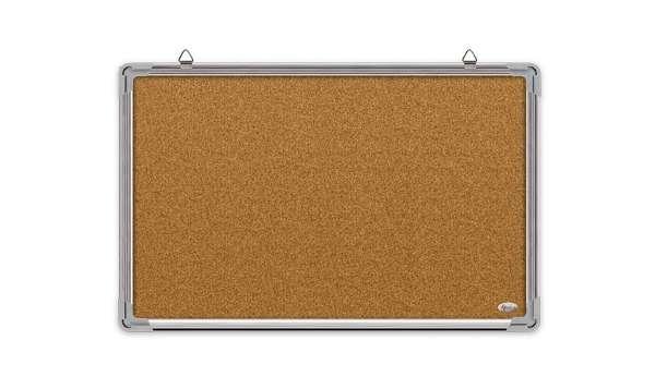 Доска пробковая с алюминиевой рамкой 60х90 см