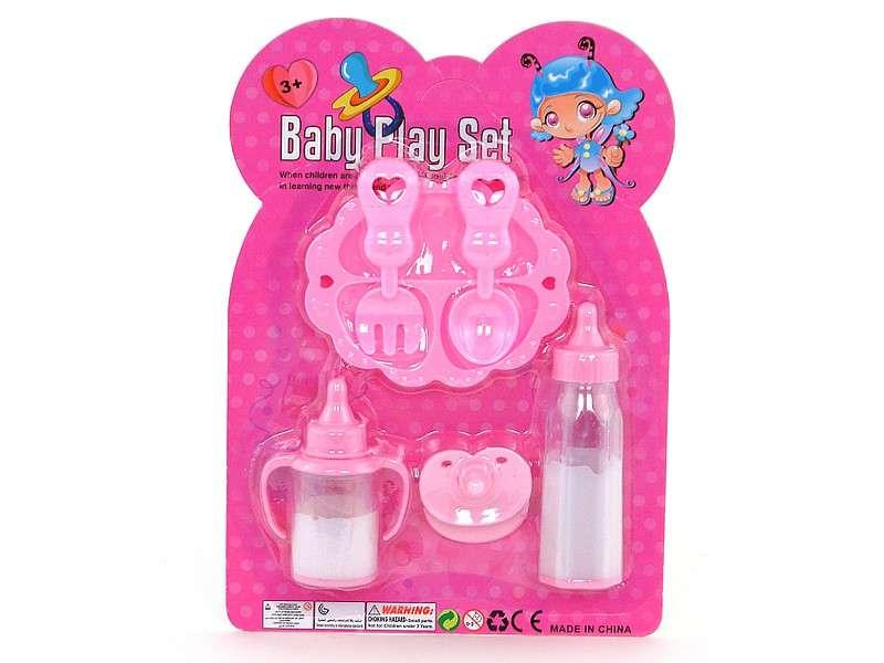 Набор детских игровых бутылочек