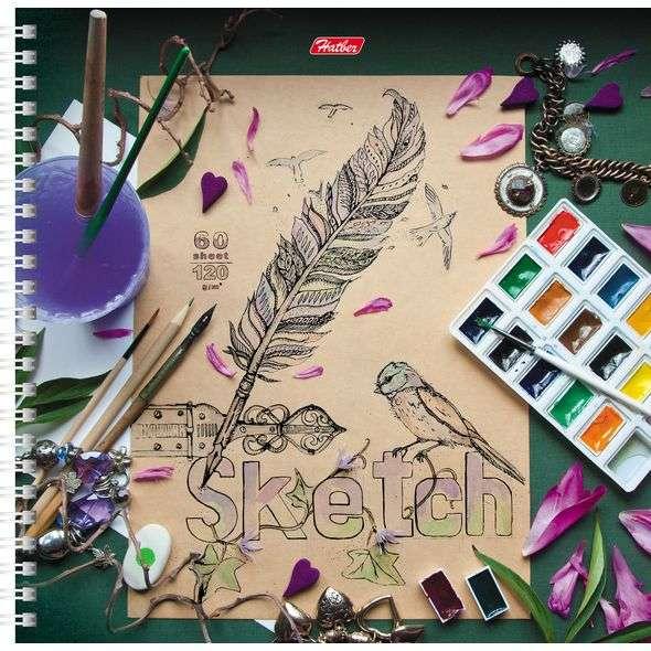 SketchBook 60л А4ф 210х210мм