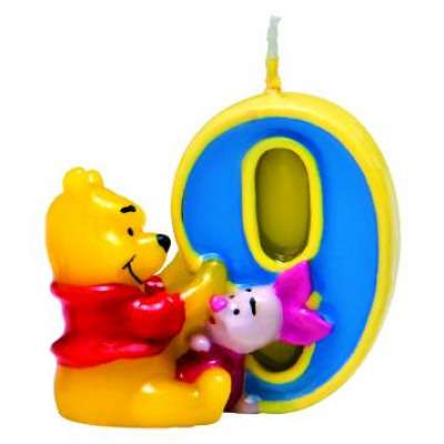 Свеча для торта Winnie the Pooh