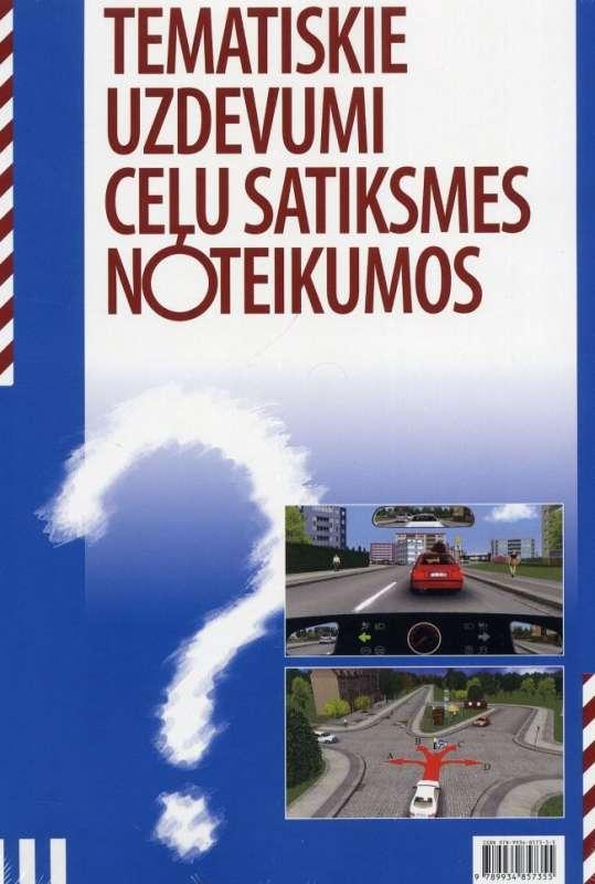 Tematiskie uzdevumi ceļu satiksmes noteikumos