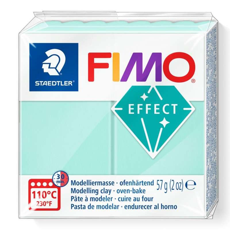 Cietējoša modelēšanas masa FIMO EFFECT, 57g,piparmētra
