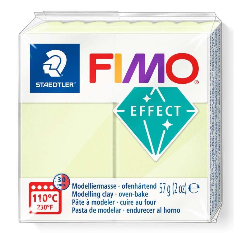 Cietējoša modelēšanas masa FIMO EFFECT, 57g,vaniļa