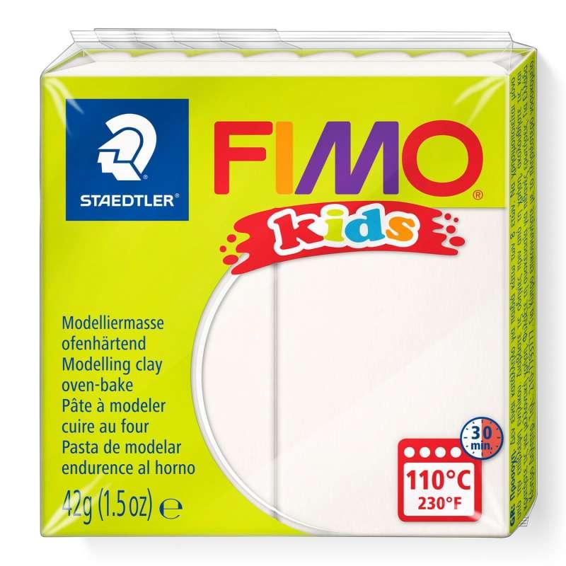 Полимерная глина FIMO KIDS, белая