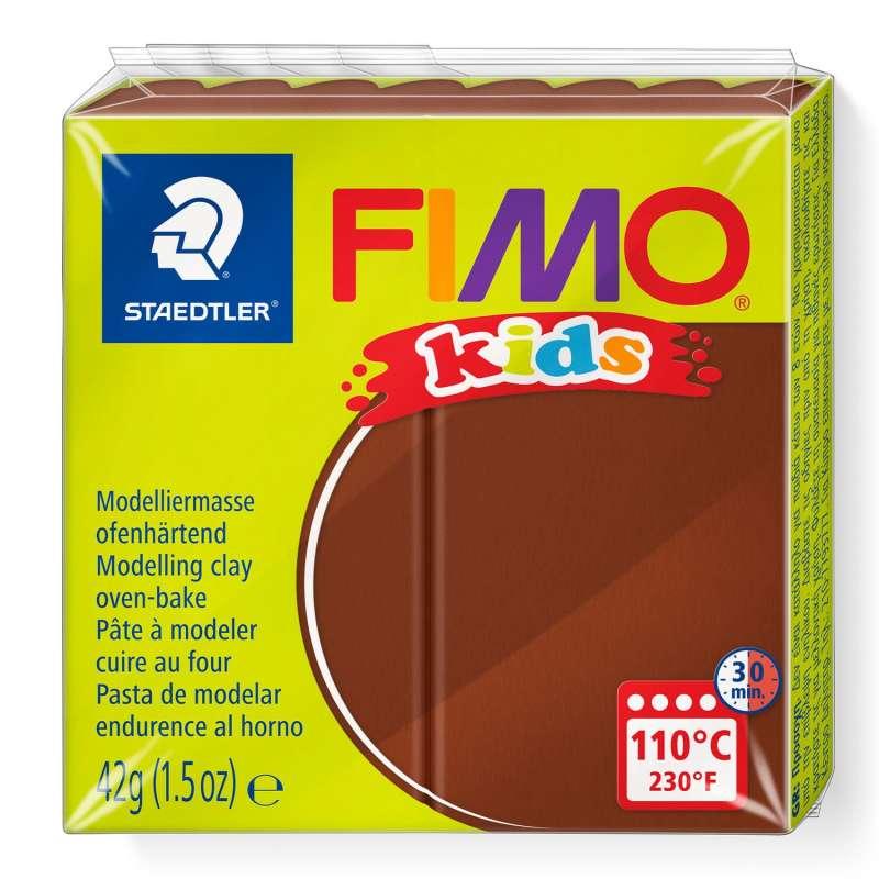 Полимерная глина FIMO KIDS, коричневая