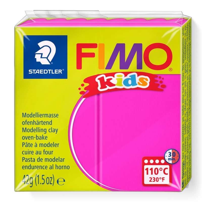 Полимерная глина FIMO KIDS, фуксия