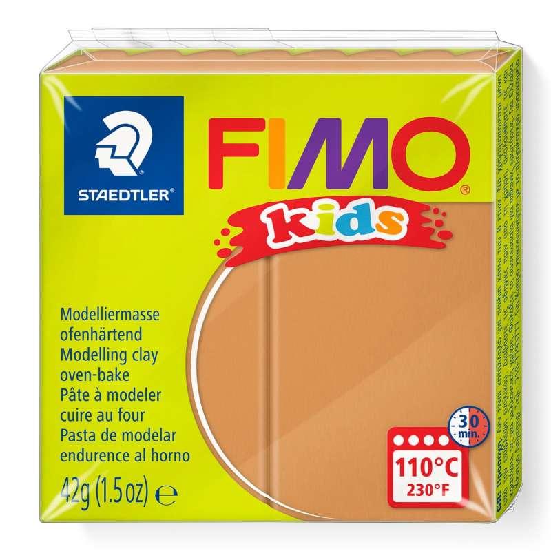 Полимерная глина FIMO KIDS, светло-коричневая