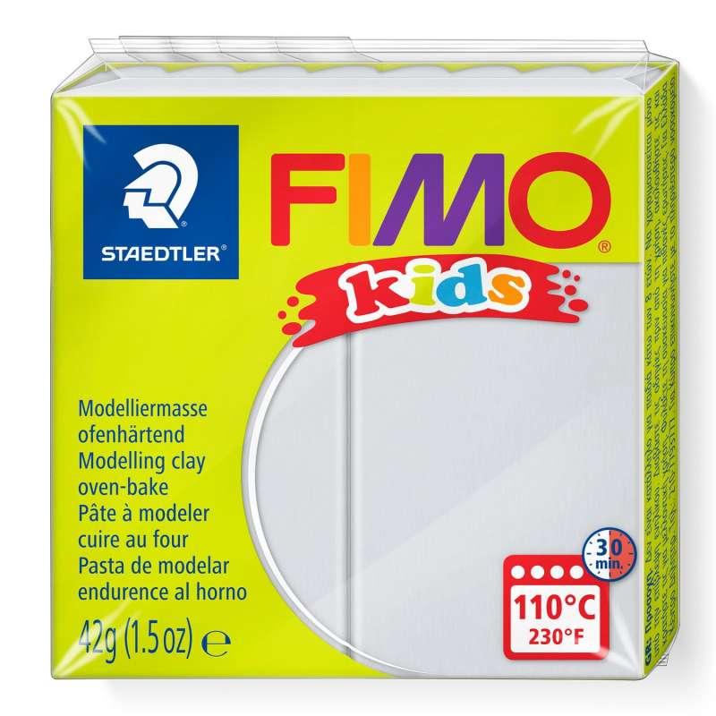 Полимерная глина FIMO KIDS, светло-серая