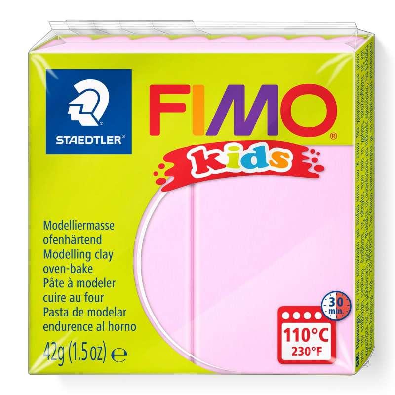 Полимерная глина FIMO KIDS, светло-розовый