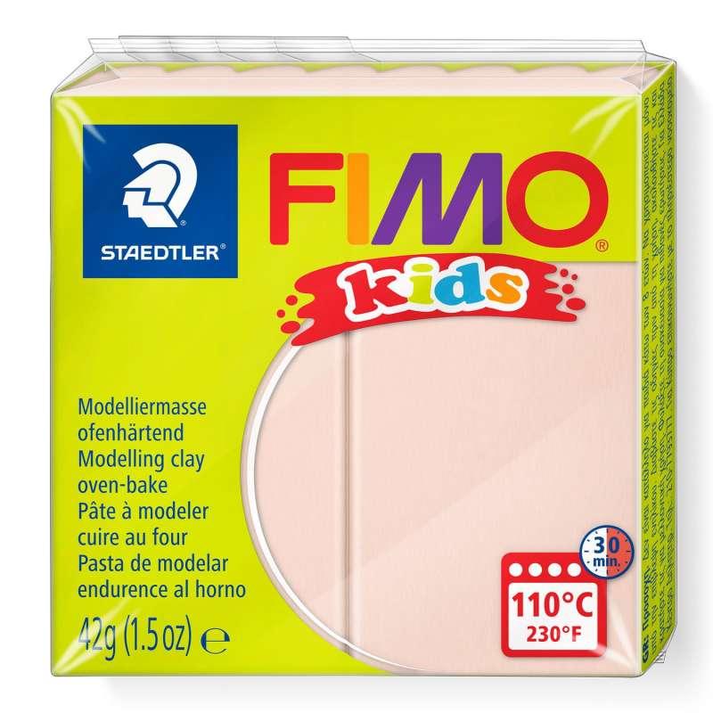 Полимерная глина FIMO KIDS, телесный