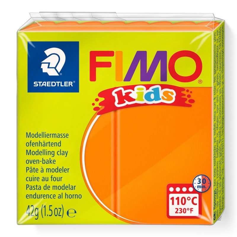Полимерная глина FIMO KIDS, оранжевая