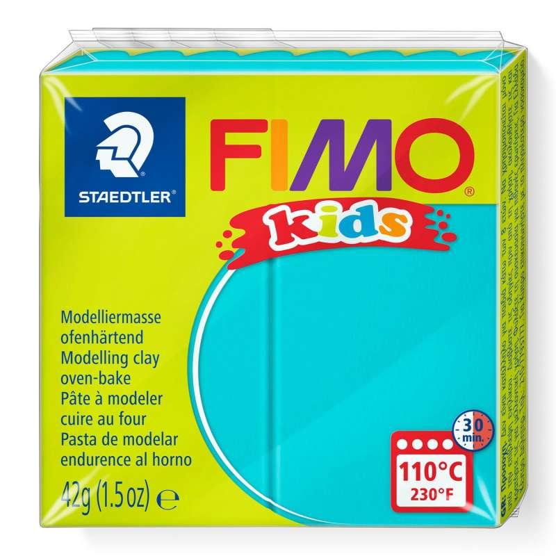 Полимерная глина FIMO KIDS, бирюзовая