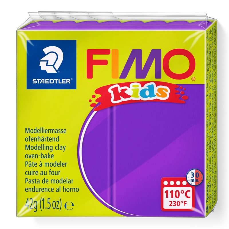 Полимерная глина FIMO KIDS, фиолетовый