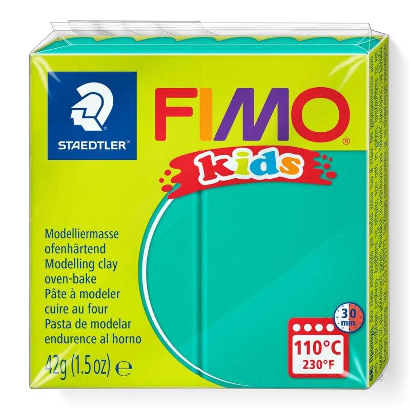 Полимерная глина FIMO KIDS, зеленая