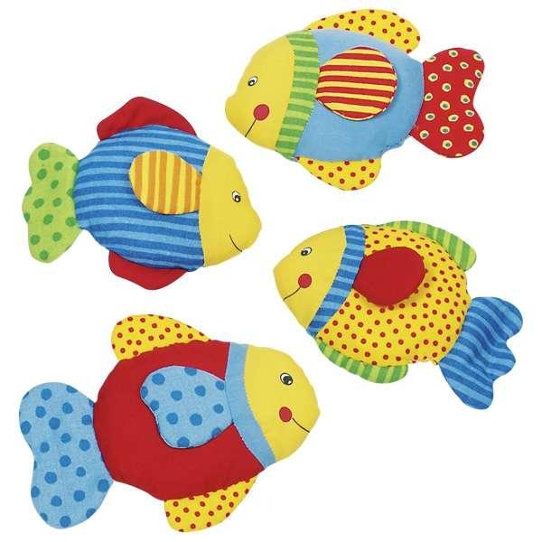 Мягкая игрушка GOKI со звуками - Рыбка
