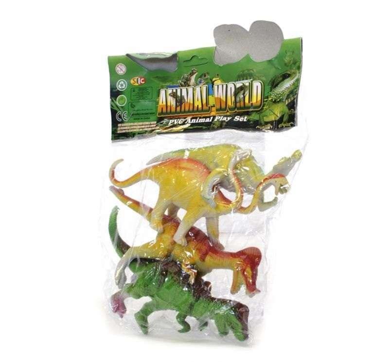 Dinozauru komplekts  , 4 gab