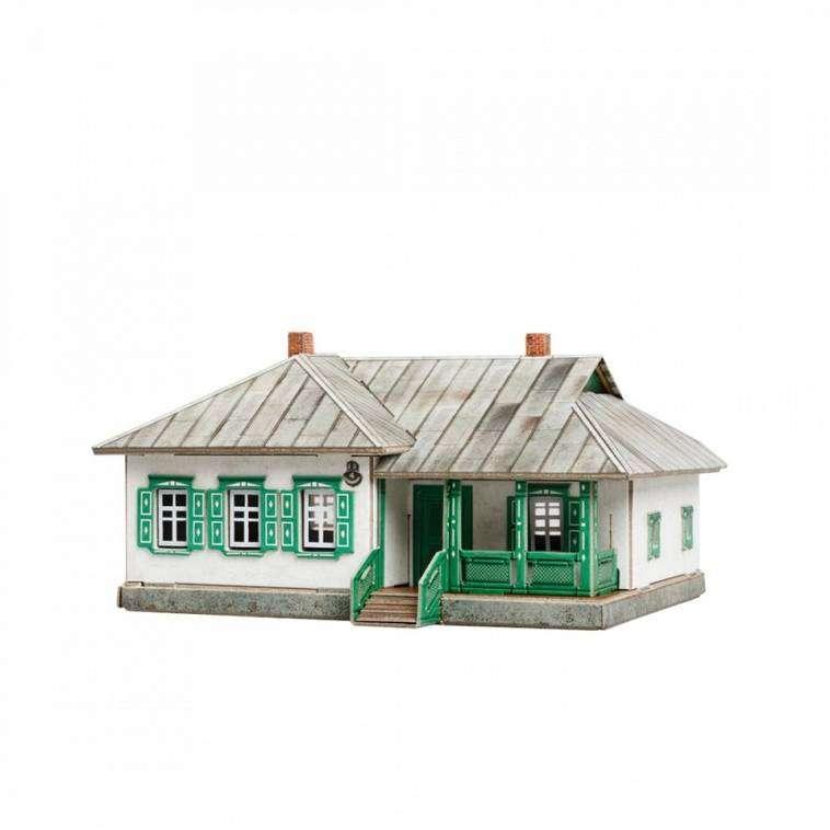 Saliekamais modelis - Lauku māja Nr. 2