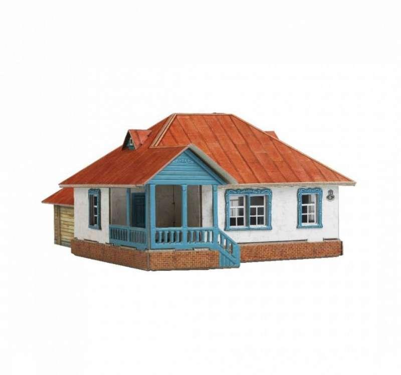 Saliekamais modelis -  Lauku māja Nr. 3