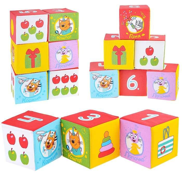 Мякиши -Три Кота кубики (Математика)