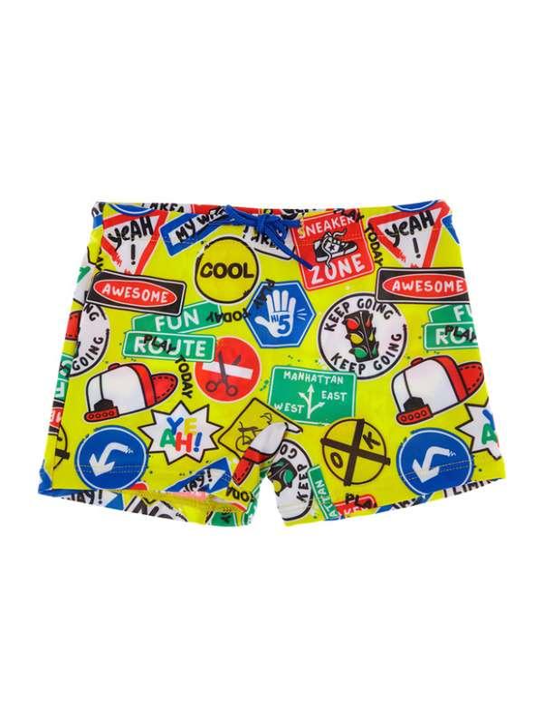 Плавки-шорты детские трикотажные для мальчиков (Размер 86)