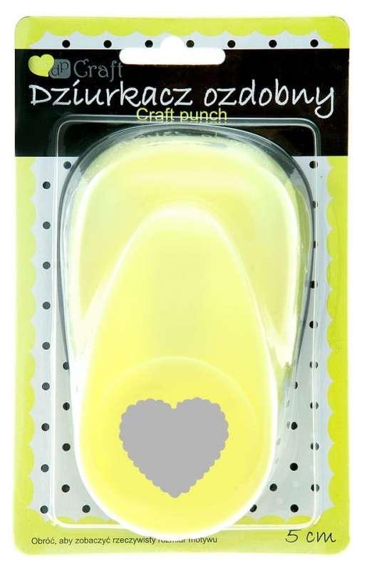 Dekoratīvais caurumotājs 5cm - Grezns sirdis
