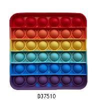 Игрушка-антистресс силиконовая POP-IT MIX, квадрат
