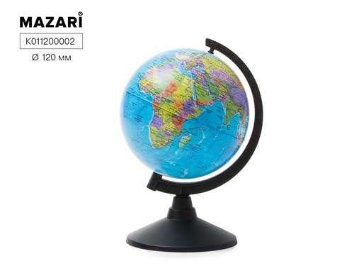 Глобус политический, d=120мм