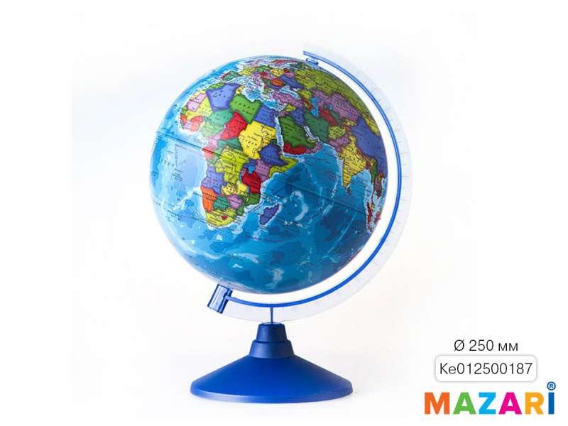 Глобус политический, d=250мм