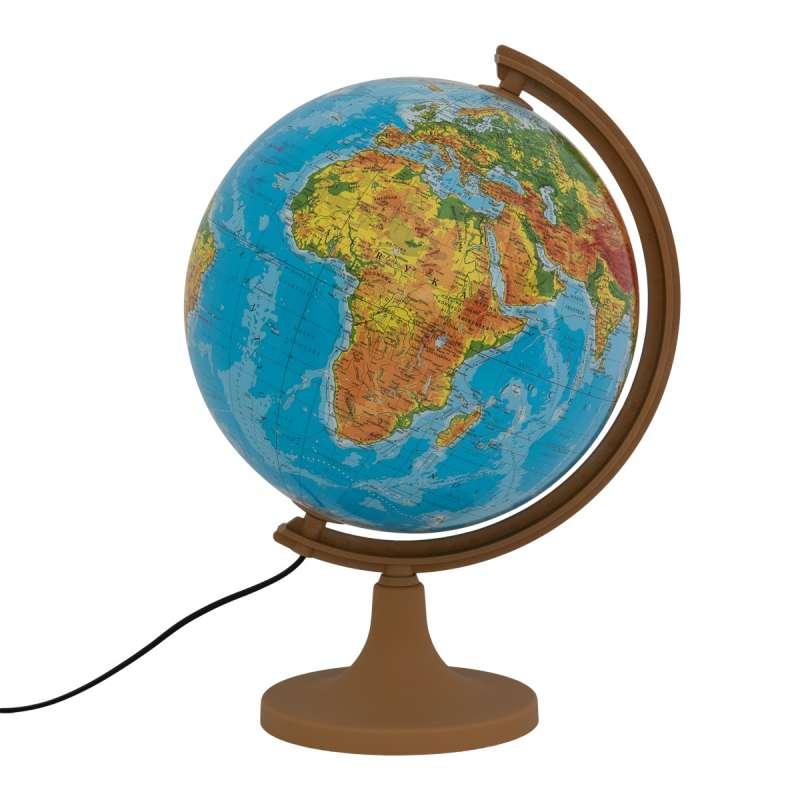 Globuss 320 mm ar apgaismojumu fiziskais