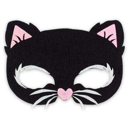 Karnevāla maska Kaķis 18.5x14cm