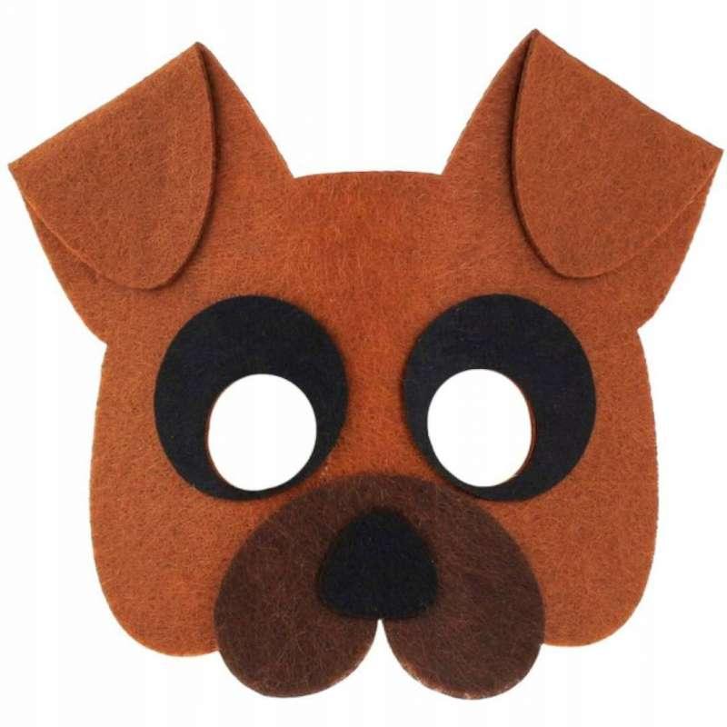 Filca maska-  Suns 13x14cm