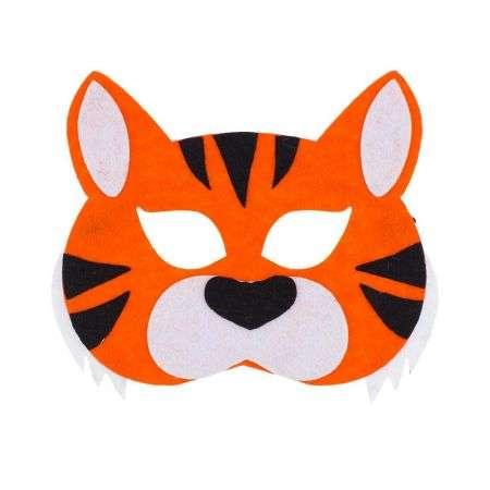 Karnevāla maska Tīģeris20x14cm