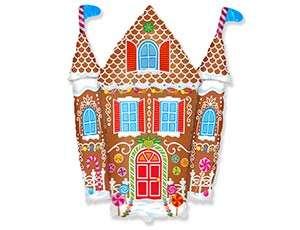 Folijas balons 24 Gingerbread Castle