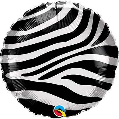 Фольгированный шар 18 Зебра