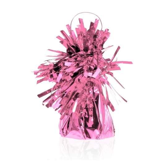 Противовес для шаров  ФОЛЬГА  145g, розовый 1шт.