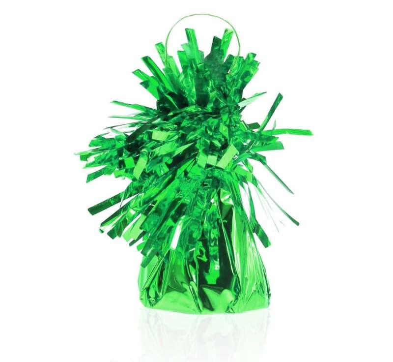 Противовес для шаров  ФОЛЬГА, 145г, зеленый 1шт.