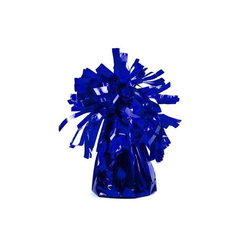 Противовес для шаров ФОЛЬГА, 145гр синяя 1шт.
