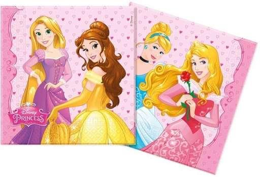 Салфетки Princeses 33x33см, 20шт.