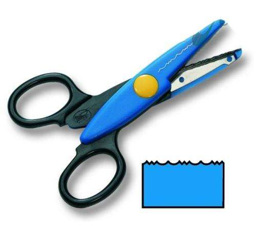 Ножницы FOLIA, синие