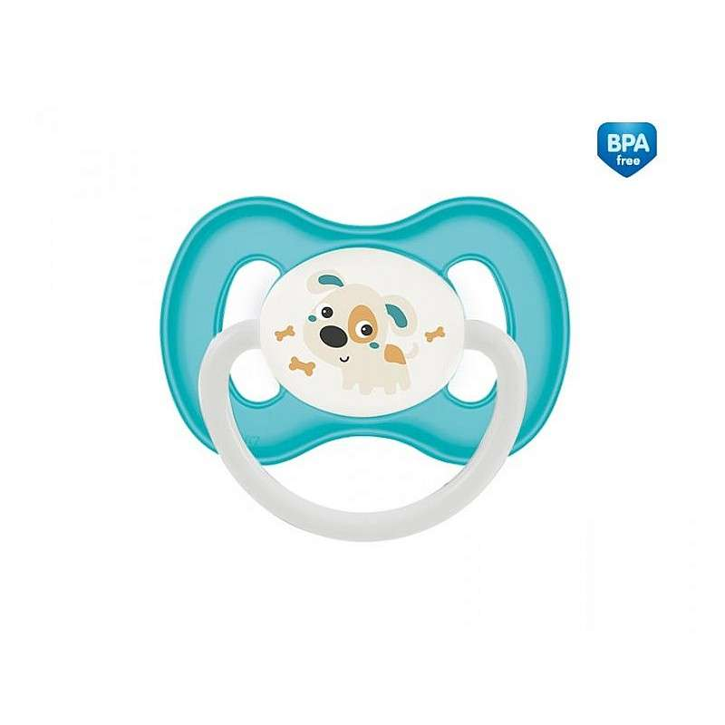 CANPOL BABIES  Латексная пустышка круглой формы Bunny&Company 0-6м